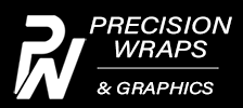 Precision Wraps and Graphics Logo