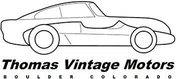 Thomas Vintage Motors Logo