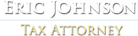 Eric Johnson Tax Attorney Logo