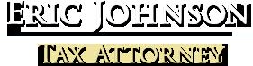 Eric Johnson Tax Attorney Logo