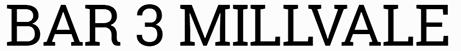 Bar 3 Millvale Logo