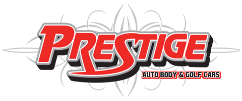 Prestige Auto Body & Golf Cars Logo