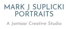 Mark J Suplicki Portraits Logo