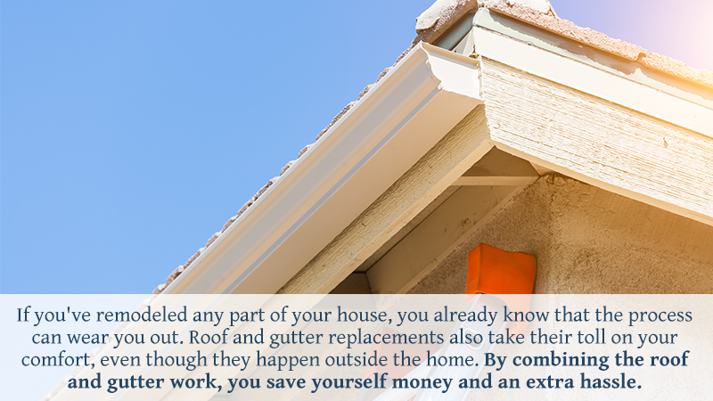 3 Reasons Why You Should Replace Your Gutters When You