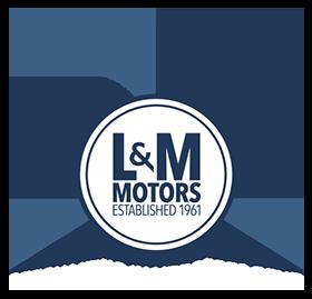 L & M Motors Logo