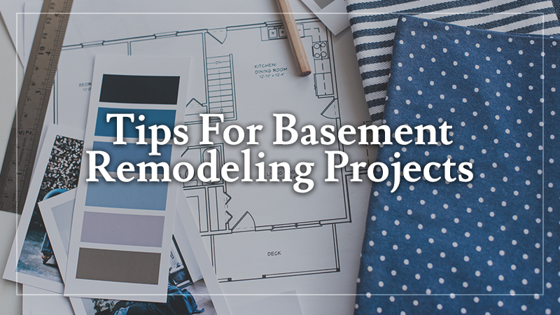Don't Start a Basement Remodeling Project Before Reading These Tips