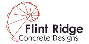 Flint Ridge Concrete Designs Logo
