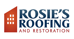 Rosie's Roofing and Restoration Logo