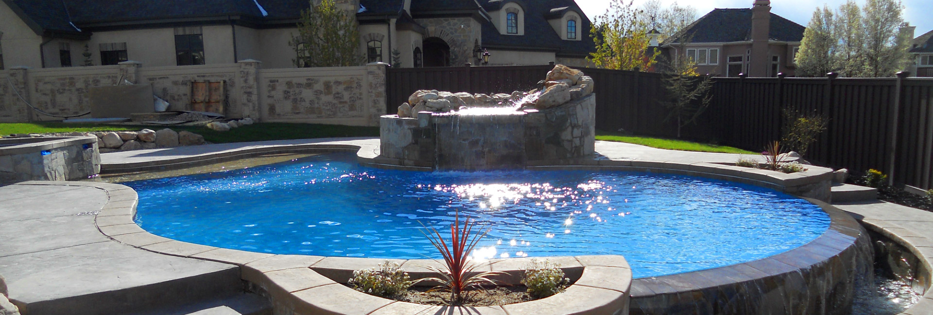Infinite possibilities from pools to patios landscaper for Pool show near me