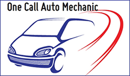 One Call Auto Mechanic Logo