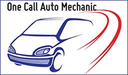 One Call Auto Mechanic Logo