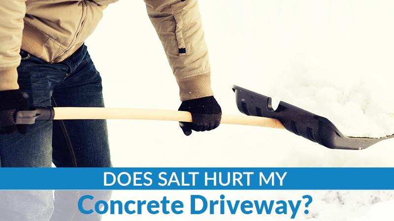 Does Salt Hurt My Concrete Driveway?