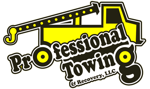 Professional Towing & Recovery Logo