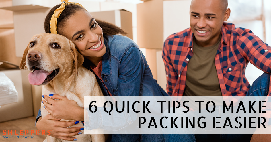 6 Quick Tips to Make Packing Easier