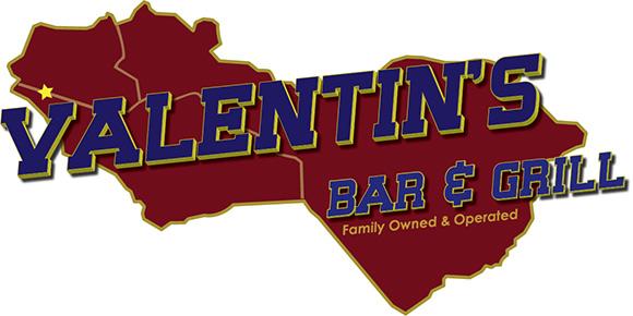 Valentins Bar & Grill Logo