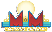 M & M Lighting Supply Logo