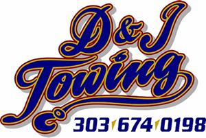 D&J Towing Logo