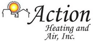 Action Heating & Air Inc. Logo