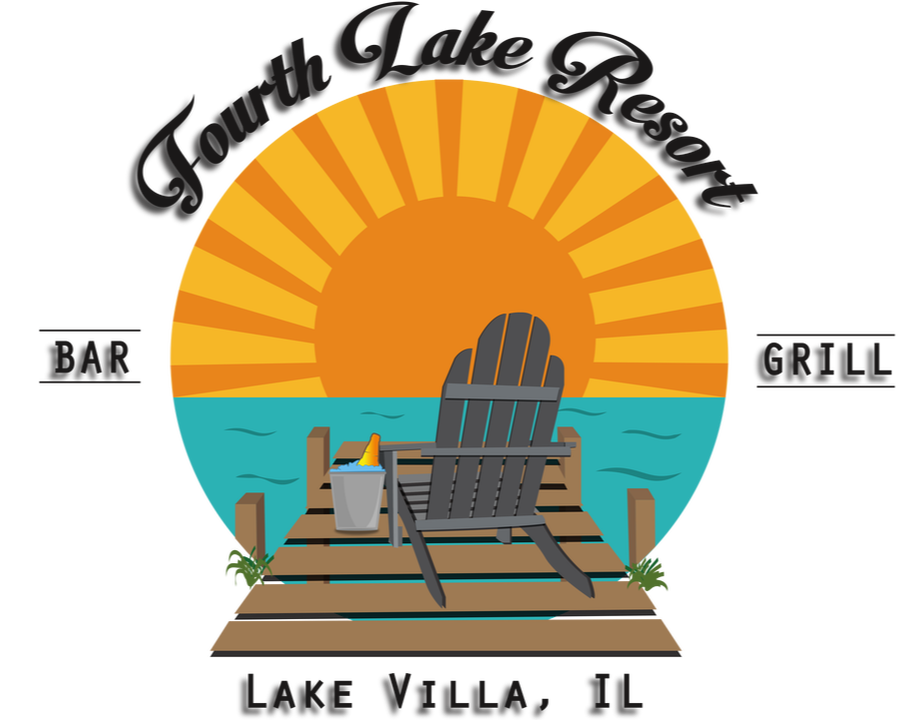 Fourth Lake Resort Bar & Grill Logo