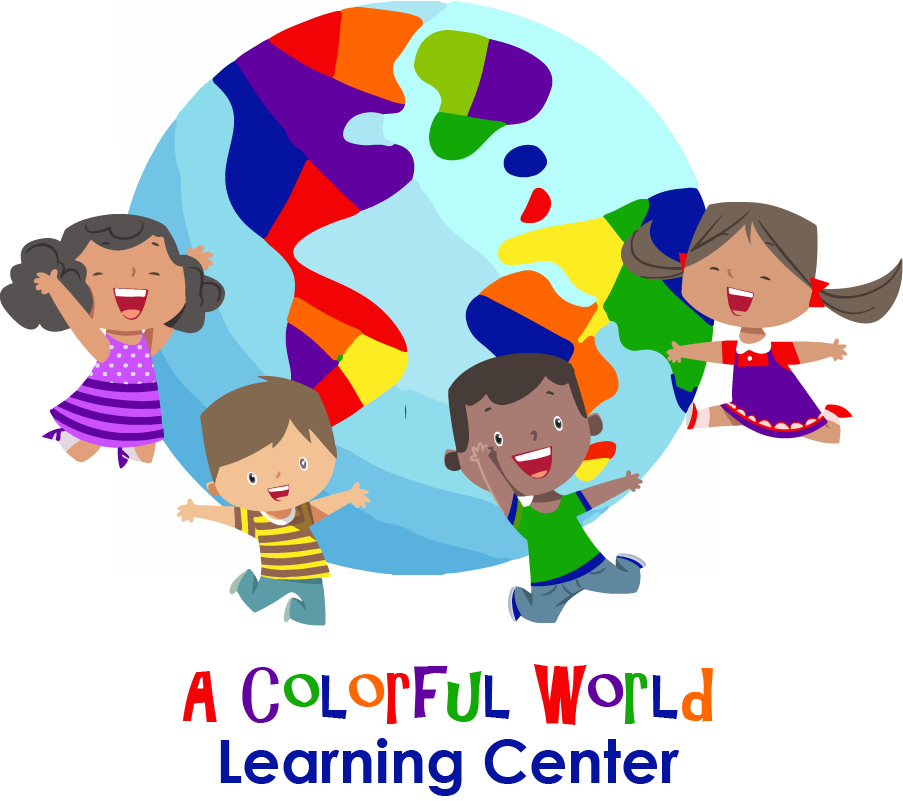 A Colorful World Learning Center Logo