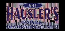 Hausler's Paint & Decorating Logo