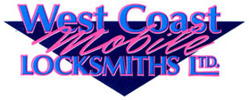 West Coast Mobile Locksmiths Logo