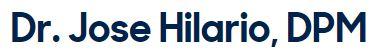 Jose F. Hilario, DPM Logo