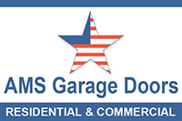 AMS Garage Doors Logo