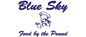 Blue Sky Food by the Pound Logo