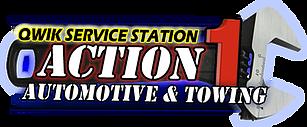 Action 1 Qwik Service Logo