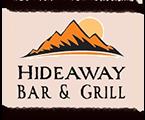 Hideaway Bar & Grill Logo