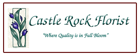 Castle Rock Florist Logo