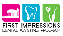 First Impressions Dental Assisting Program Logo