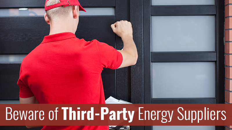 Beware of Third-Party Energy Suppliers
