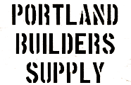 Portland Builders Supply Logo