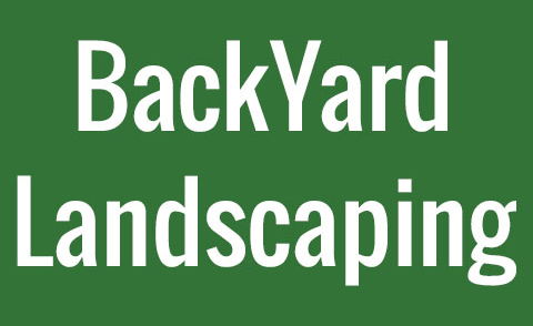 BackYard Landscaping Logo