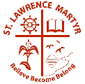 St Lawrence Martyr School Logo