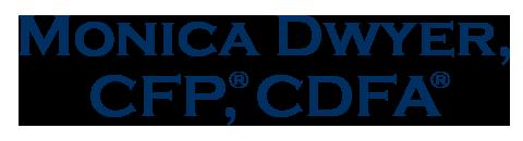 Monica Dwyer, CFP®, CDFA® Logo