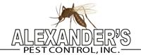 Alexander's Pest Control Logo