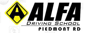 Alfa Driving School Piedmont Rd Logo