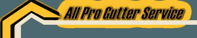 All Pro Gutter Service Logo