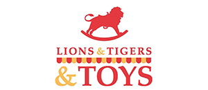 Lions & Tigers & Toys Logo