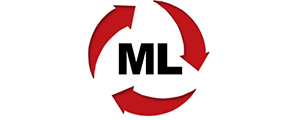M. L. Heating & Air Conditioning Logo