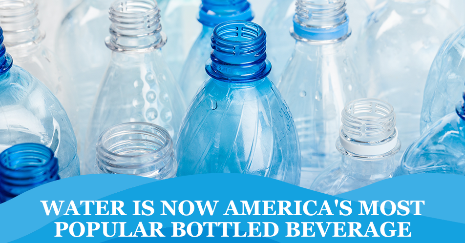 Water is Now America's Most Popular Bottled Beverage