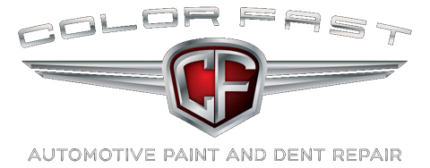 Color Fast - Automotive Paint and Dent Repair Logo