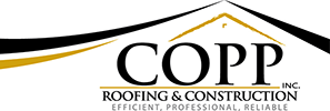 Copp Roofing & Construction Logo