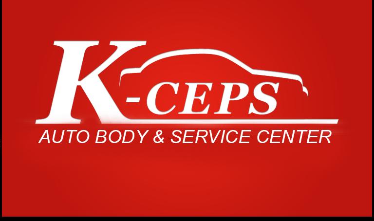 K-Ceps Auto Body Logo