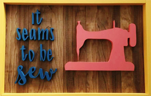 It Seams To Be Sew Logo