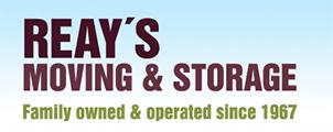 Reay's Moving & Storage Logo