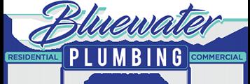 Bluewater Plumbing Service Logo